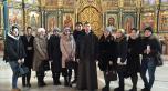 Экскурсия по Успенскому собору для студентов-социологов ЕНУ им. Л.Н.Гумилева