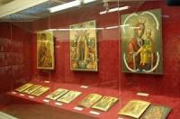 Христианская выставка икон в Астане