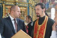 Успенский собор посетил известный спортсмен Федор Емельяненко