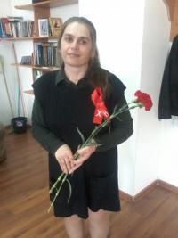 День рождения у Людмилы, одной из активных участниц молодежки